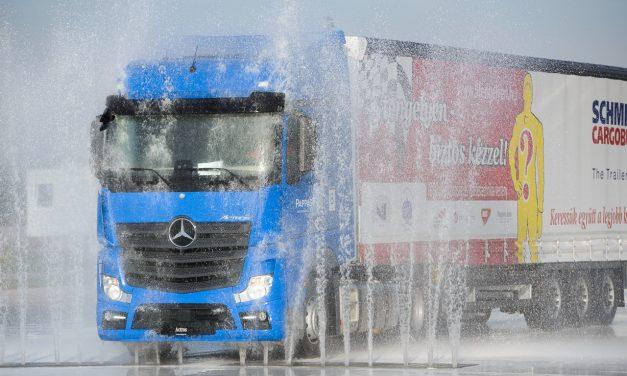 Magyarország 2018-as legjobb kamionsofőrje nem ismer lehetetlen küldetést – Mission Impossible 5 tengelyen