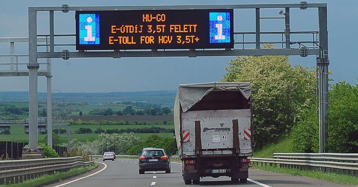 A tehergépjárművek ellenőrzése miatt fejlesztik az e-útdíj rendszert