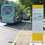 Új információs eszköz segíti a turistabuszok vezetőit a Városligetben
