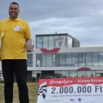 Harmadszor győzött Magyarország legjobb kamionsofőrje