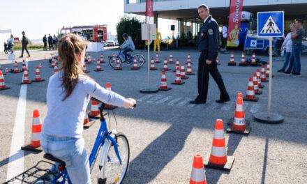 5 tengelyen – ingyenes családi nap a közlekedésbiztonságért