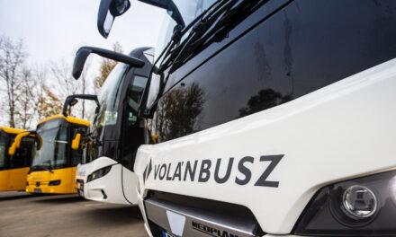 Helyközi személyszállítás: 42 százalék az autóbuszos utazás aránya