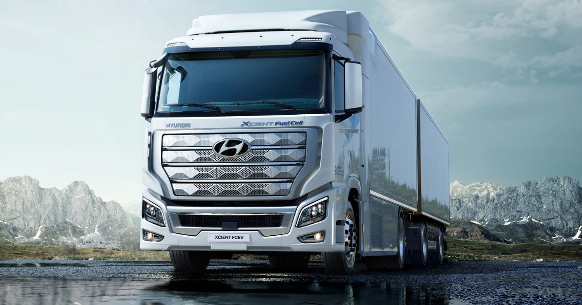 A Hyundai emeli a tétet a hidrogénüzemű teherautók európai bevezetésével
